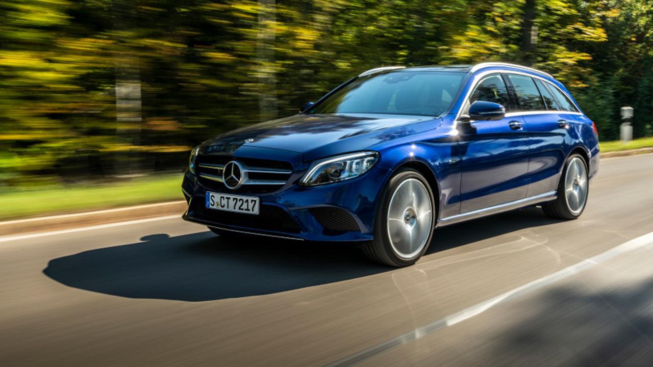 Mercedes-Benz C-Klasse T-Modell - in voller Fahrt