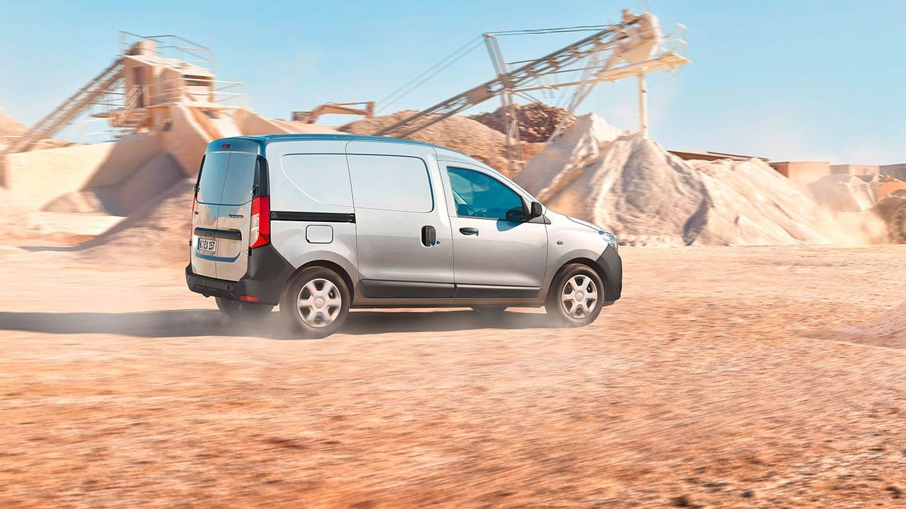 Dacia Dokker Express - auf der Baustelle
