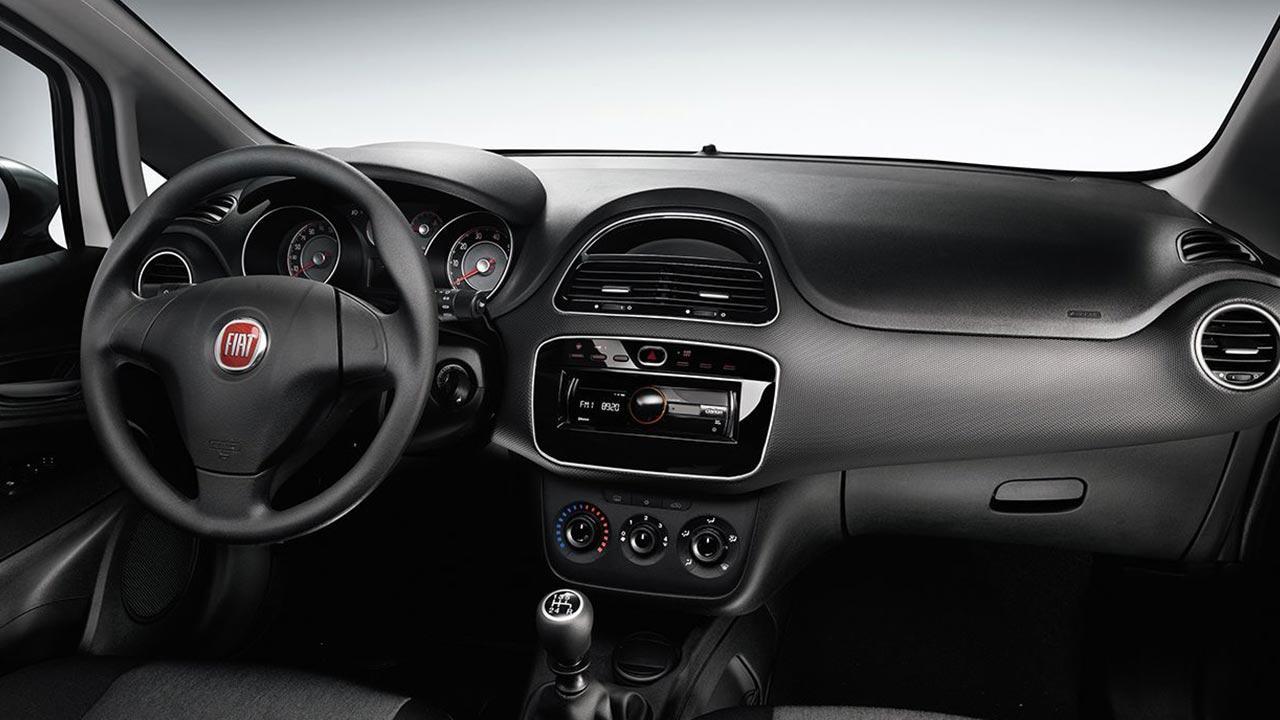 Fiat Punto - Cockpit