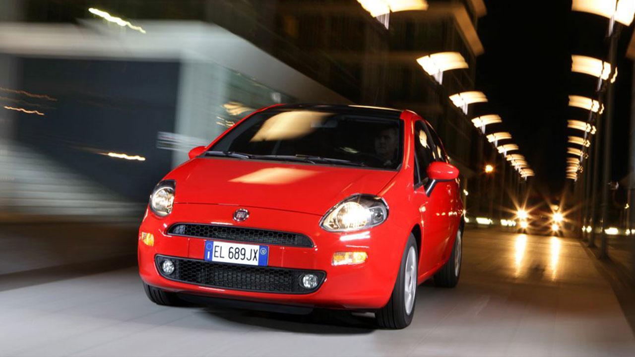 Fiat Punto - in voller Fahrt