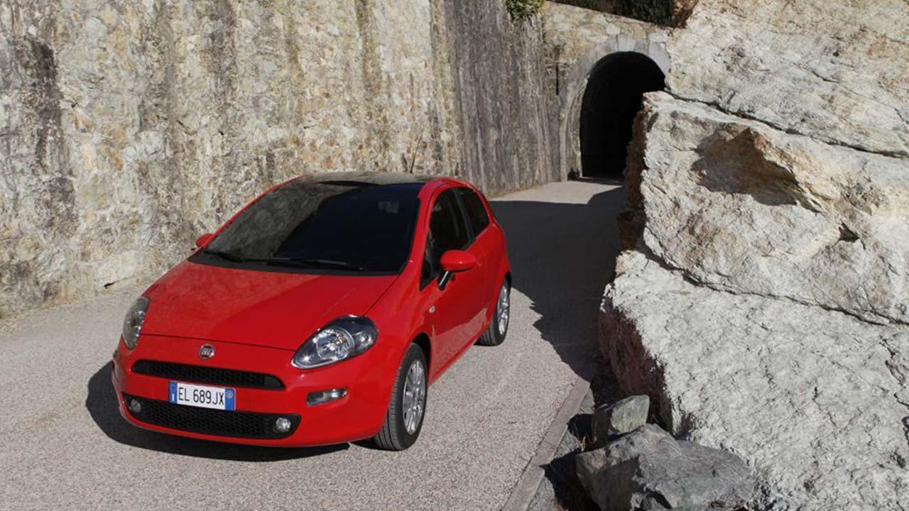 Fiat Punto - Vogelperspektive