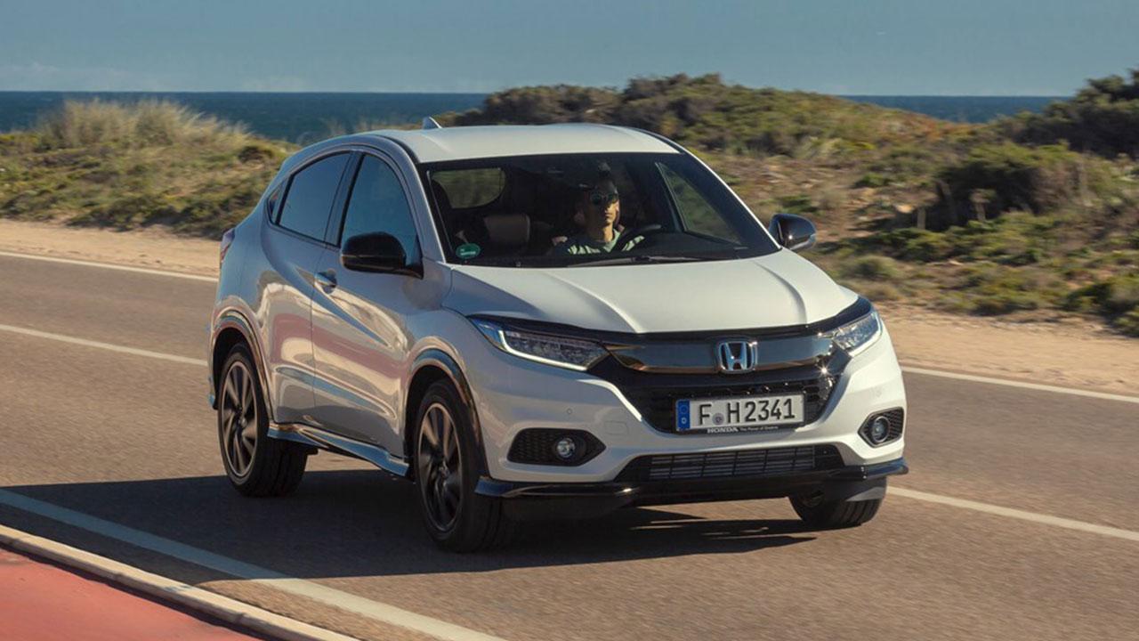 Honda HR-V - in voller Fahrt