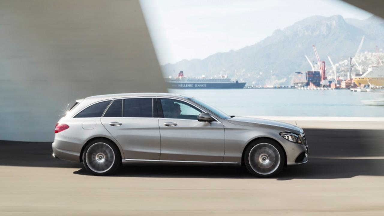 Mercedes-AMG C 43 4MATIC T-Modell - Seitenansicht