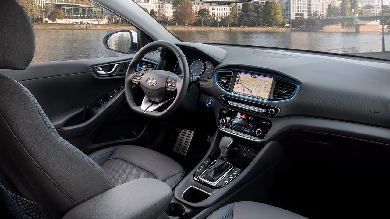Hyundai Ioniq Elektro - Cockpit