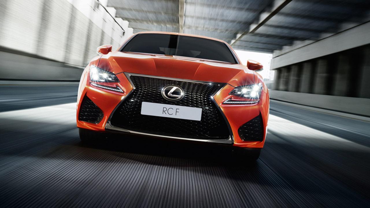Lexus RC F - Frontansicht