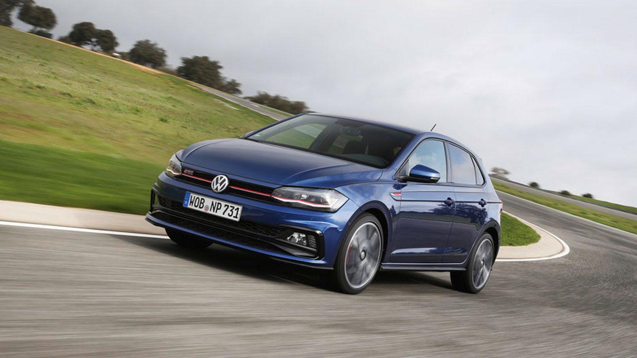 Volkswagen Polo GTI - in voller Fahrt