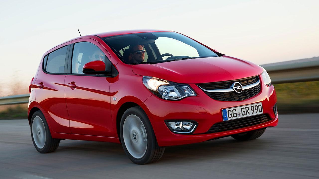 Opel Karl - in voller Fahrt