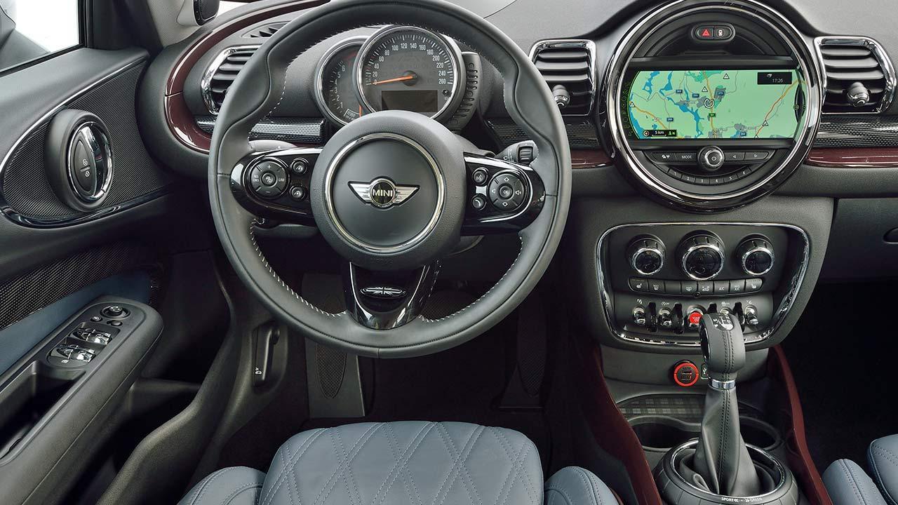 Mini Clubman - Cockpit
