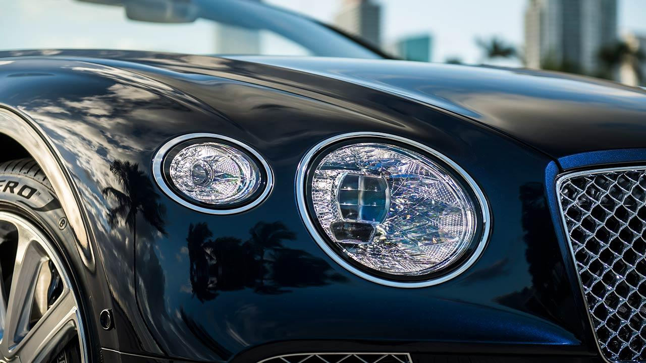Bentley NEW Continental GT Convertible - Scheinwerfer