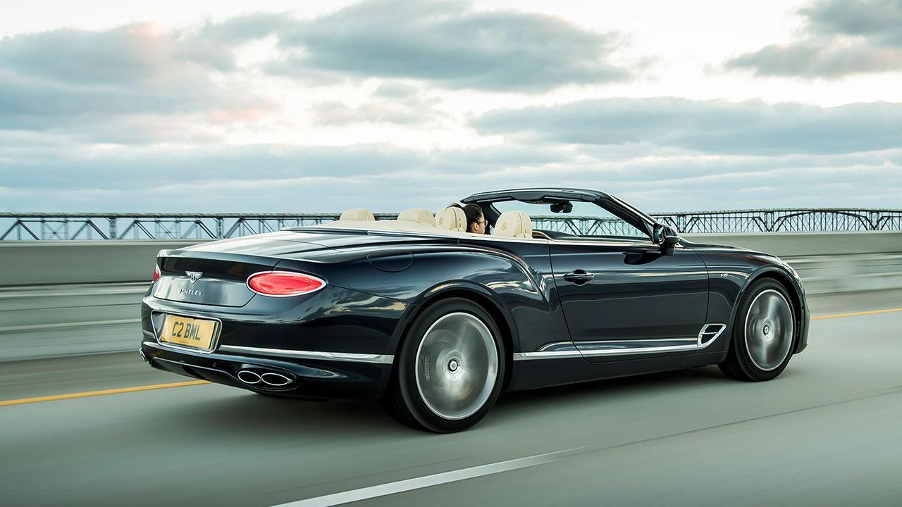 Bentley NEW Continental GT Convertible - Heckansicht