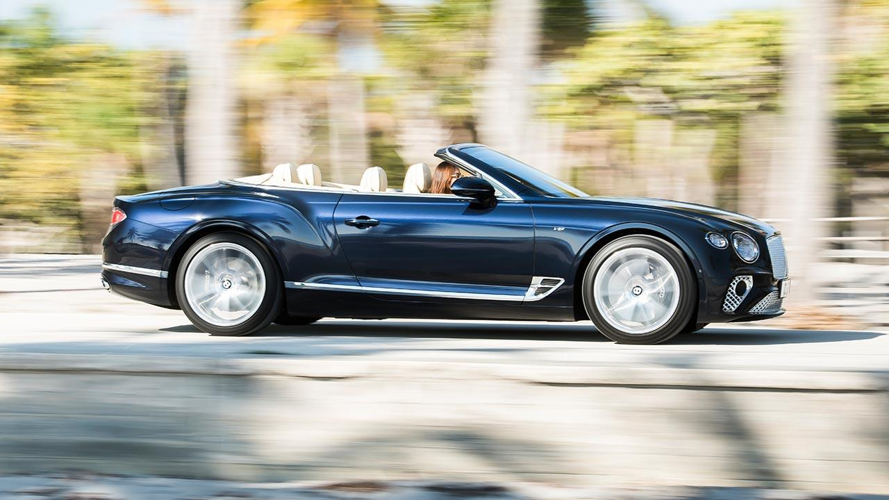Bentley NEW Continental GT Convertible - Seitenansicht