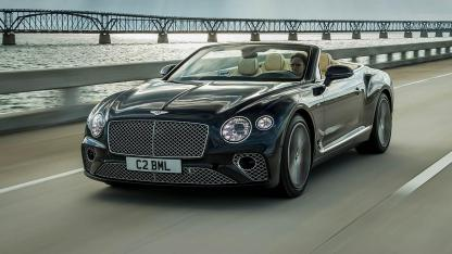 Bentley NEW Continental GT Convertible - in voller Fahrt