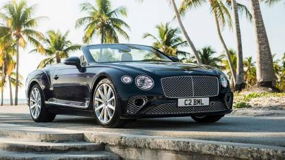 Bentley NEW Continental GT V8 Convertible - Frontansicht