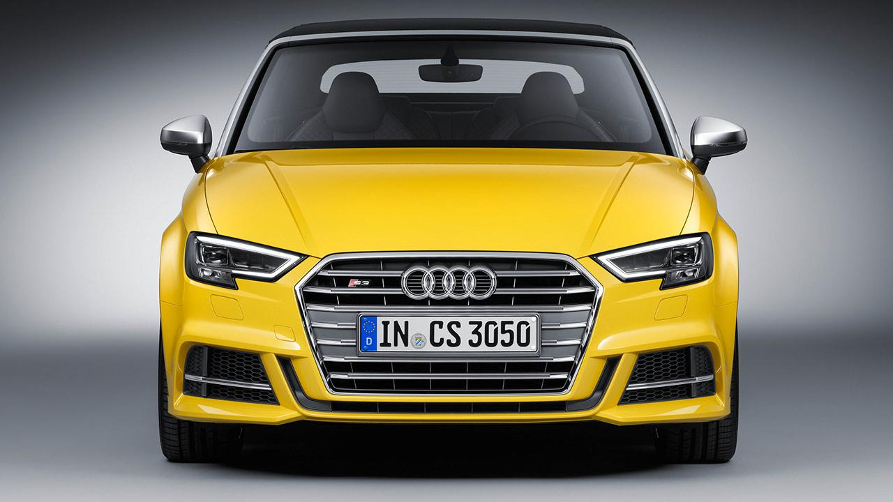 Audi S3 Cabriolet (2019) - Frontansicht
