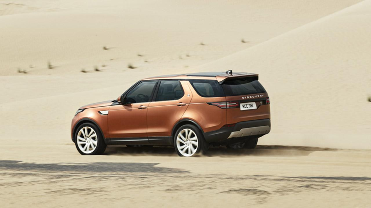 Land Rover Discovery - in der Wüste