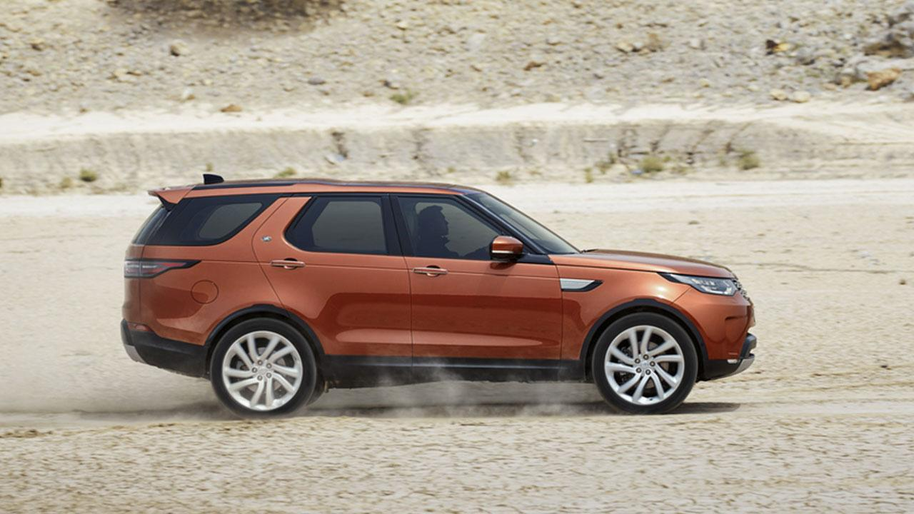 Land Rover Discovery - Seitenansicht