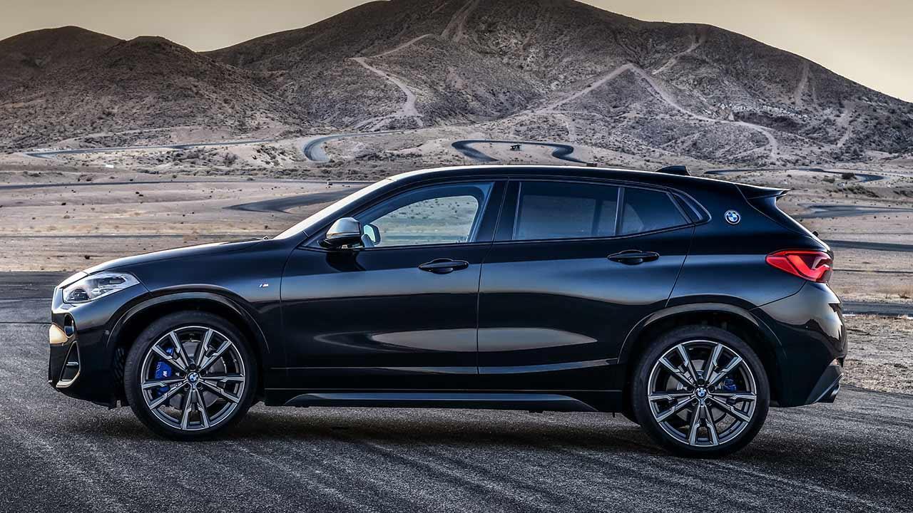 BMW X2 M35i - Seitenansicht