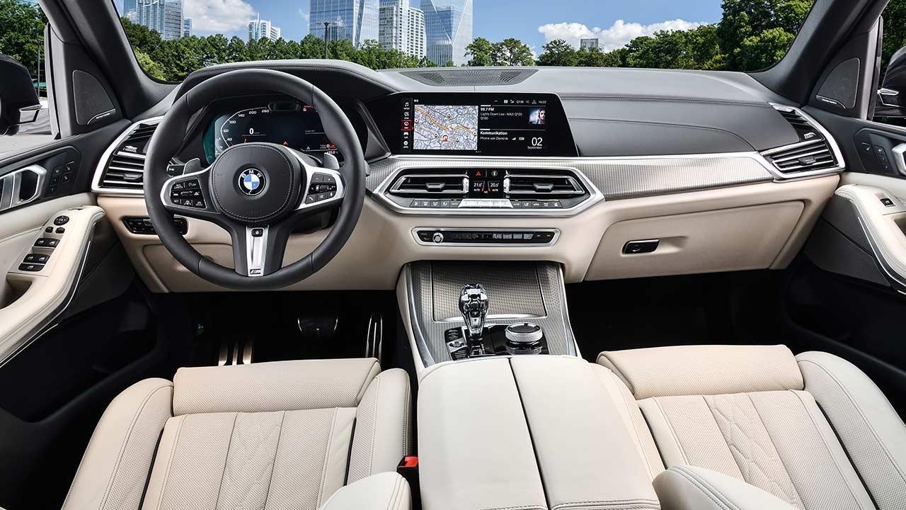 BMW X5 M50d - Cockpit