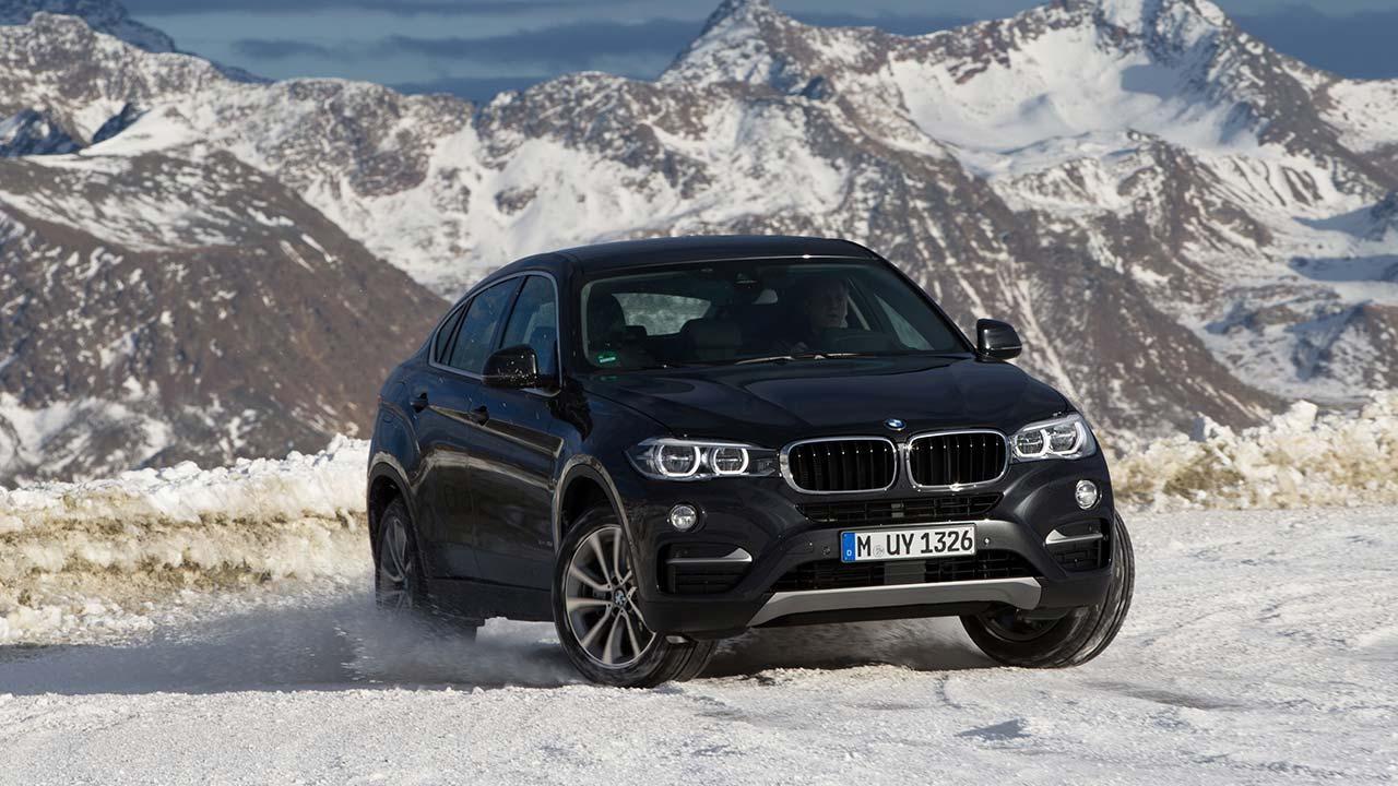 BMW X6 - Frontansicht