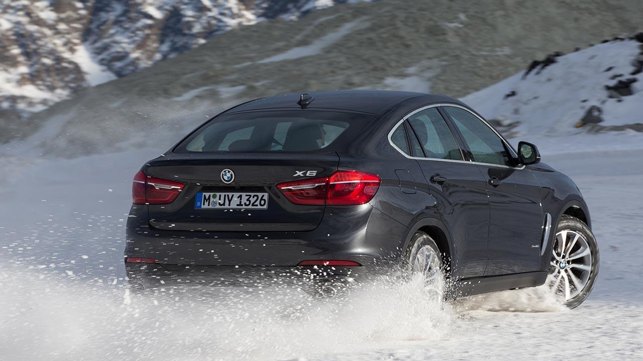 BMW X6 - Heckansicht