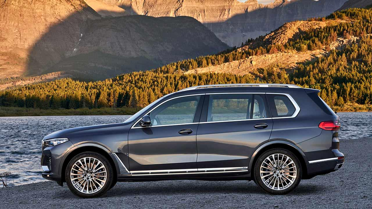 BMW X7 M50d - Seitenansicht