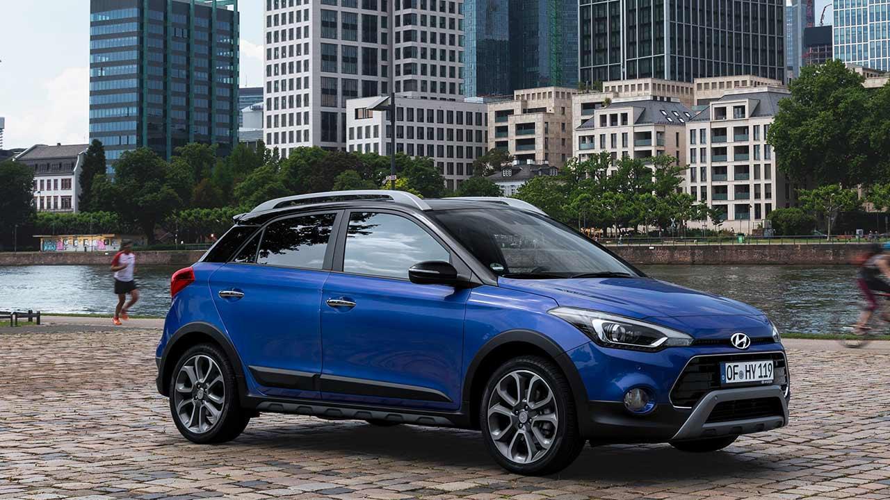 Hyundai i20 Active - Seitenansicht
