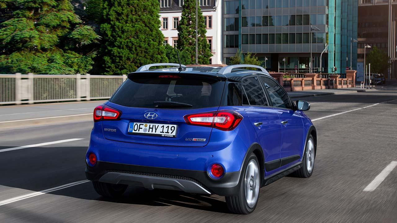 Hyundai i20 Active - Heckansicht