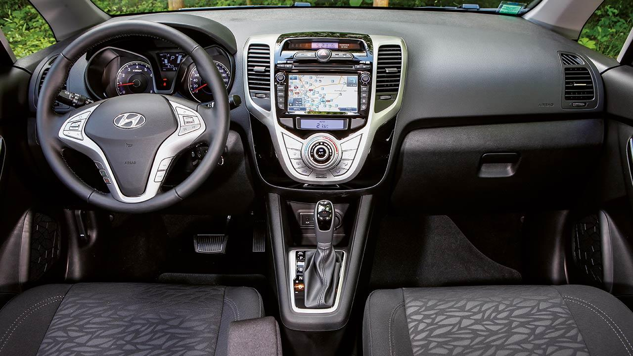 Hyundai ix20 - Cockpit