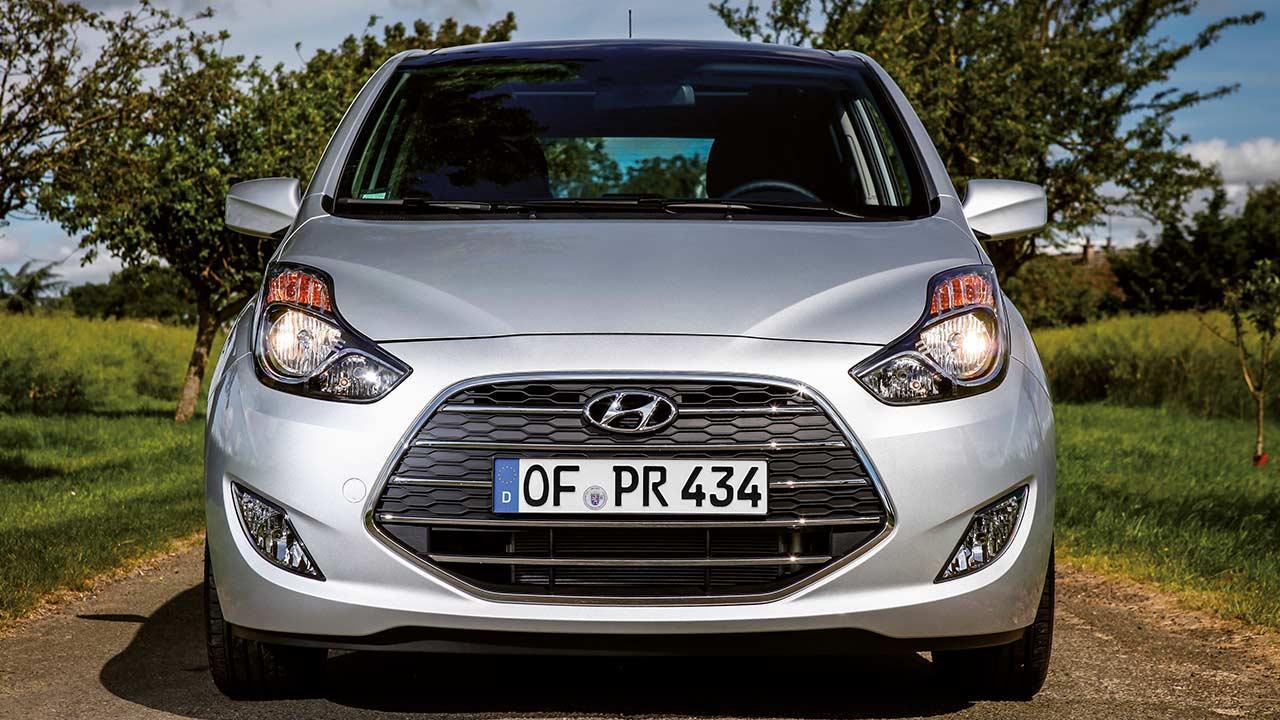 Hyundai ix20 - Frontansicht