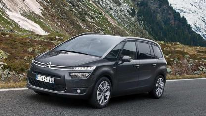 Citroen Grand C4 Spacetourer - in voller Fahrt