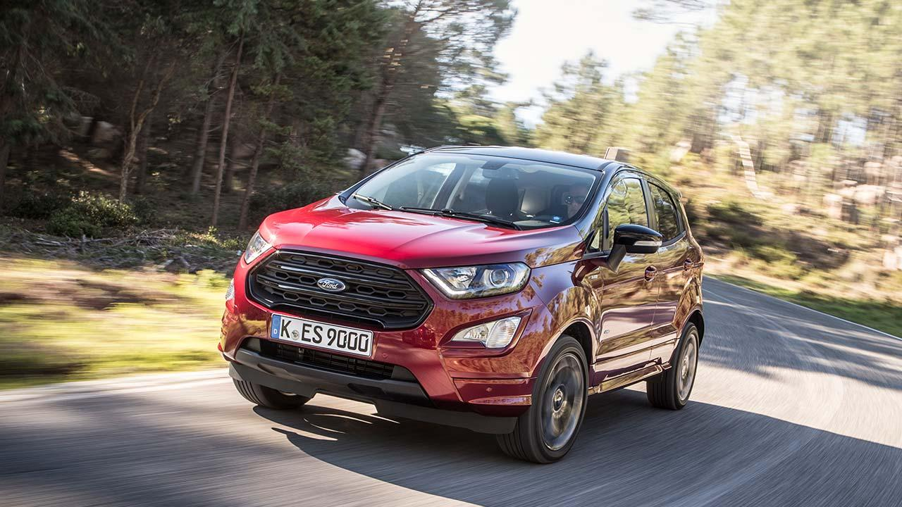 Ford EcoSport - Frontansicht