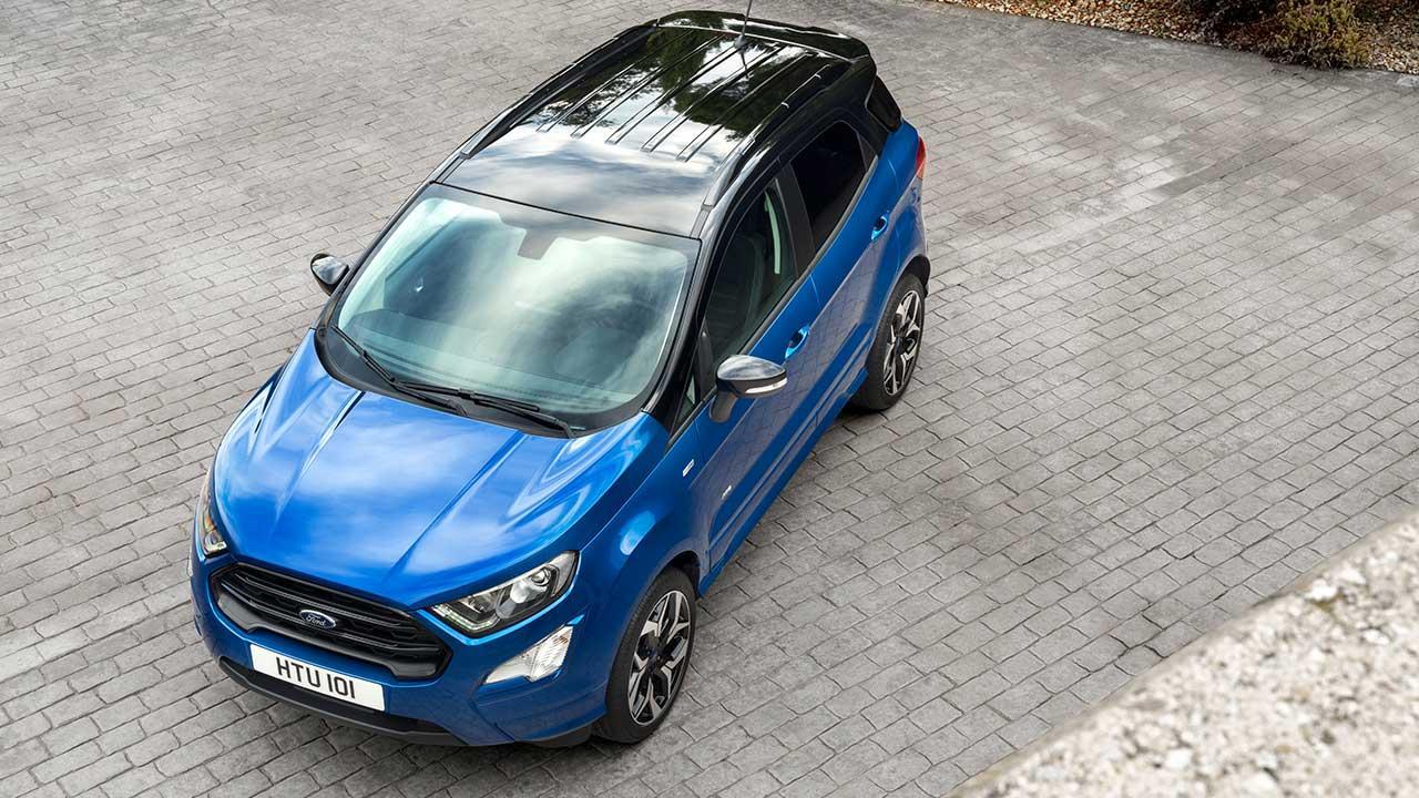 Ford EcoSport - Vogelperspektive