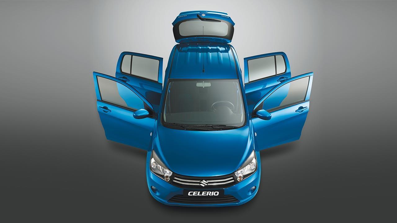 Suzuki Celerio - in Blau