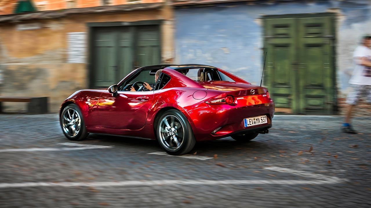 Mazda MX-5 Sondermodell 2019 - Seitenansicht in rot