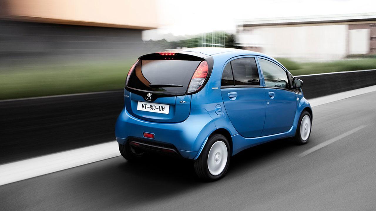Peugeot iON - Heckansicht