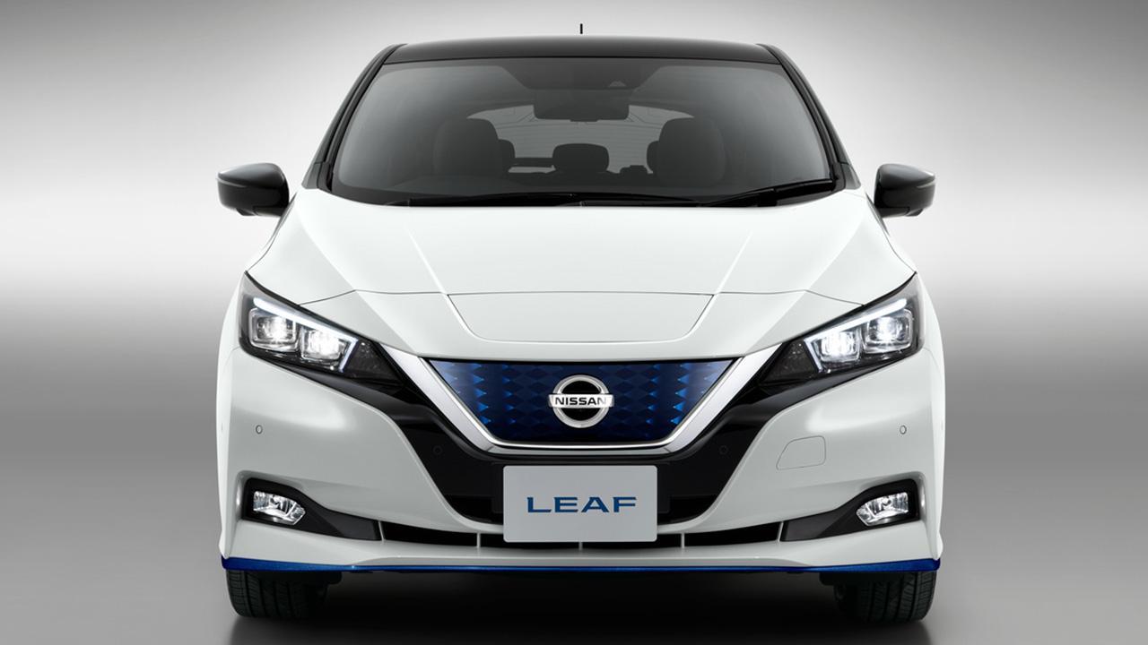Nissan Leaf - Frontansicht