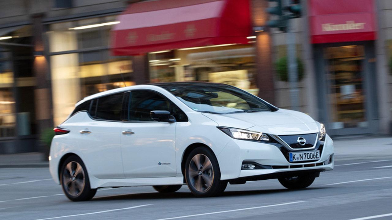 Nissan Leaf - im Stadtverkehr