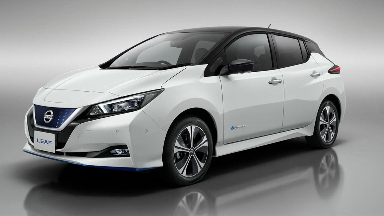 Nissan Leaf - Seitenansicht