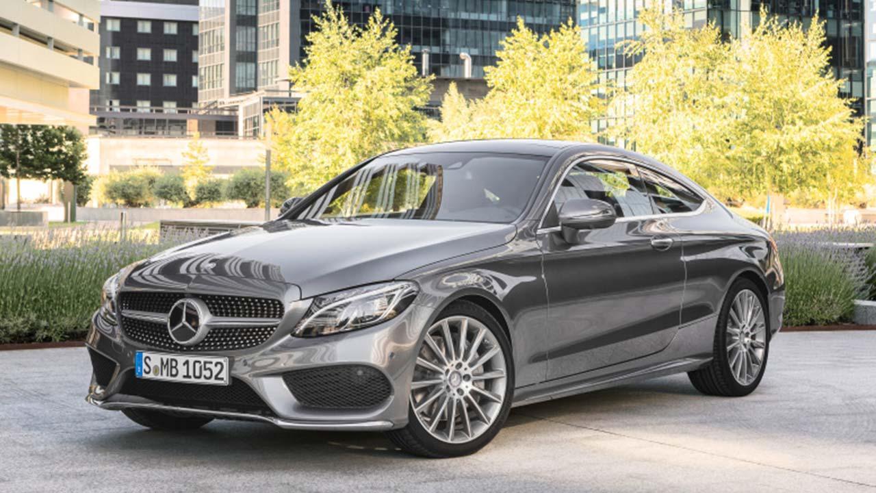 Mercedes-Benz C-Klasse Coupé - Frontansicht