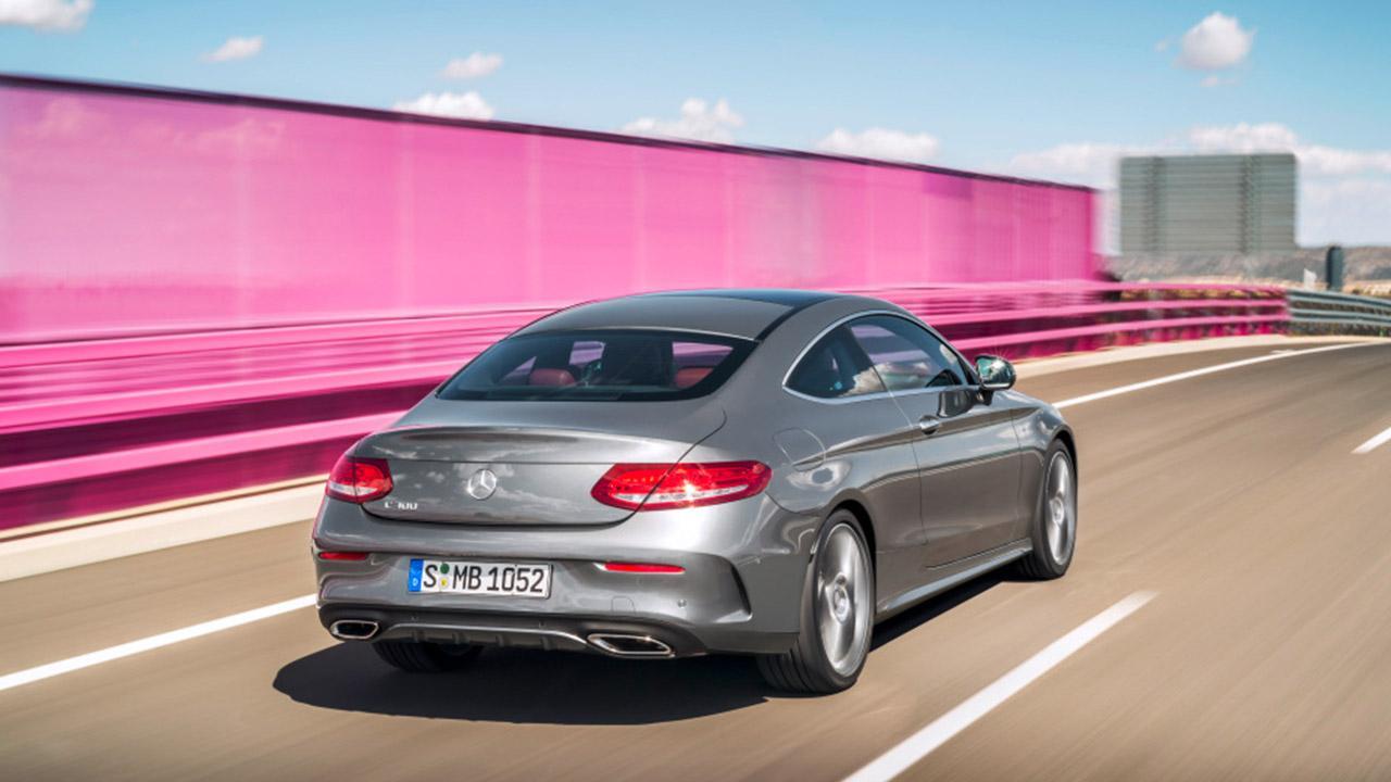 Mercedes-Benz C-Klasse Coupé - Heckansicht