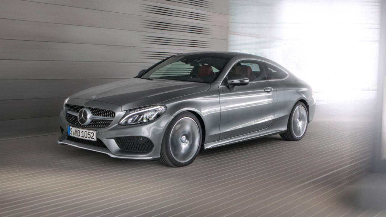 Mercedes-Benz C-Klasse Coupé - in voller Fahrt