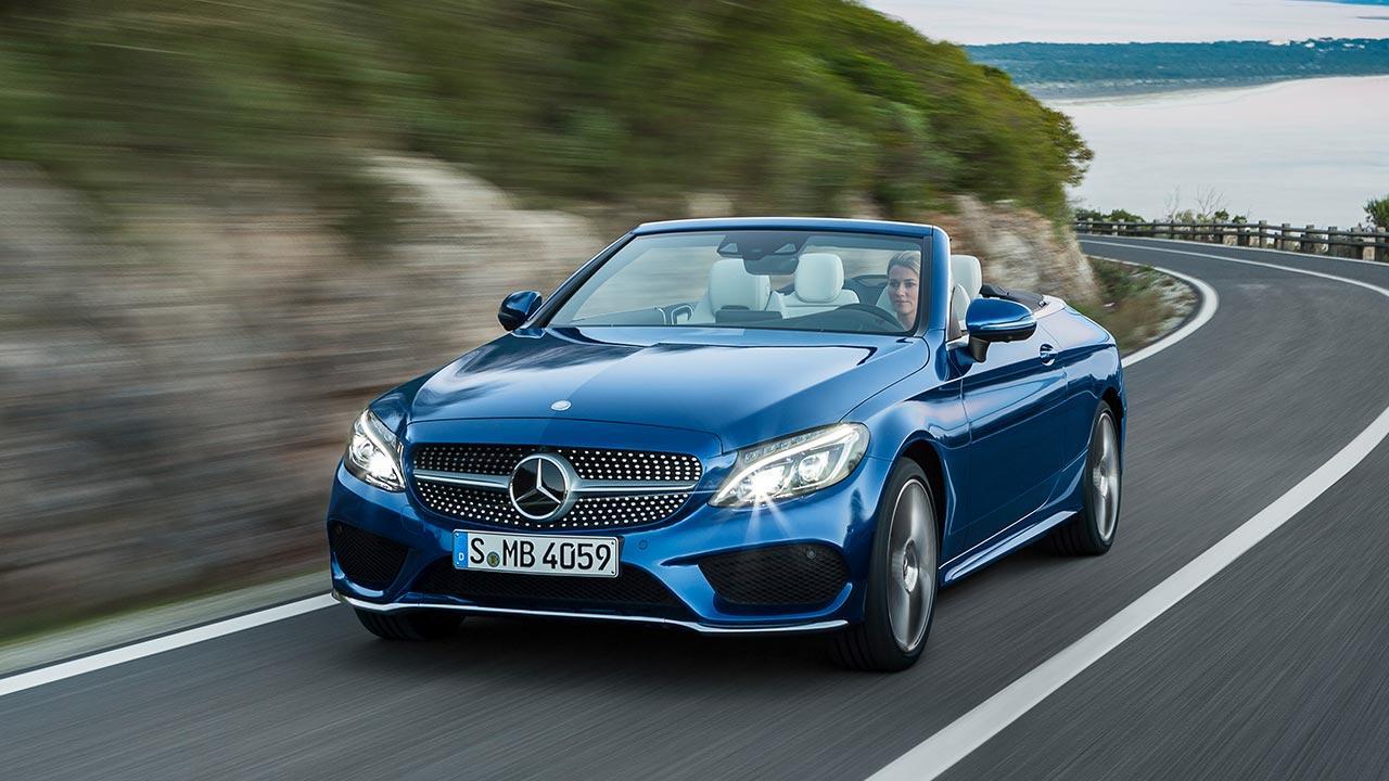 Mercedes-Benz C-Klasse Cabriolet - in voller Fahrt