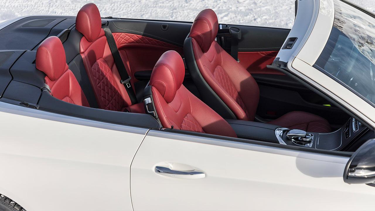 Mercedes-Benz C-Klasse Cabriolet - offenes Verdeck