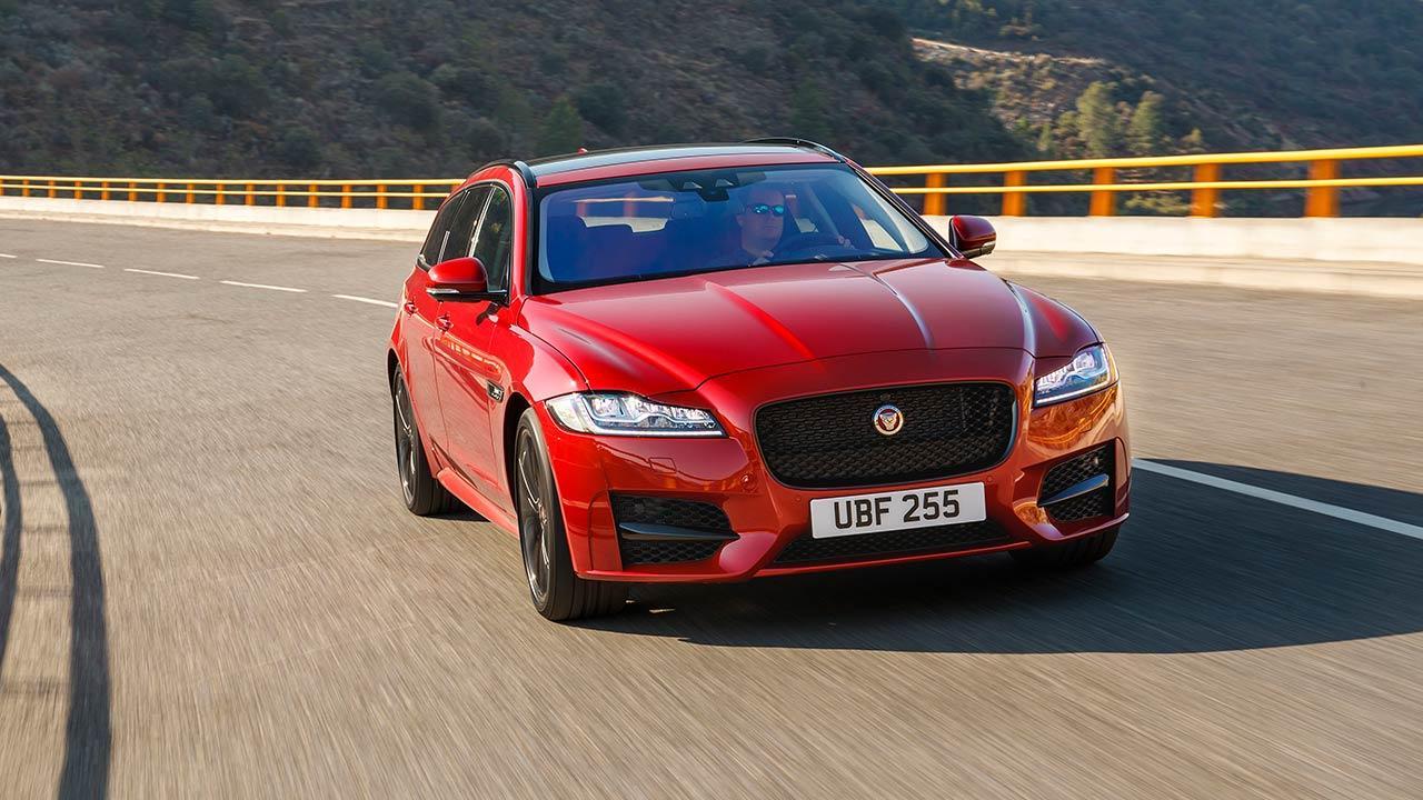 Jaguar XF Sportbrake - Frontansicht