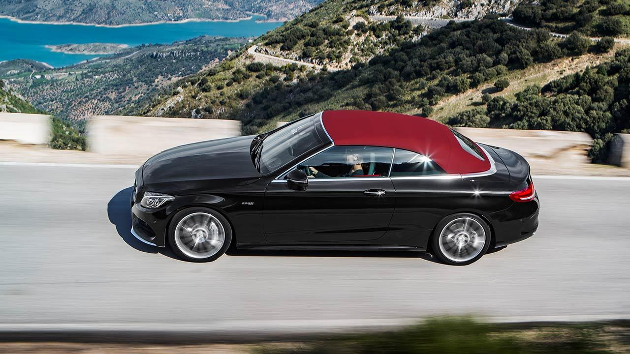 Mercedes-AMG C 43 4MATIC Cabriolet - Vogelperspektive
