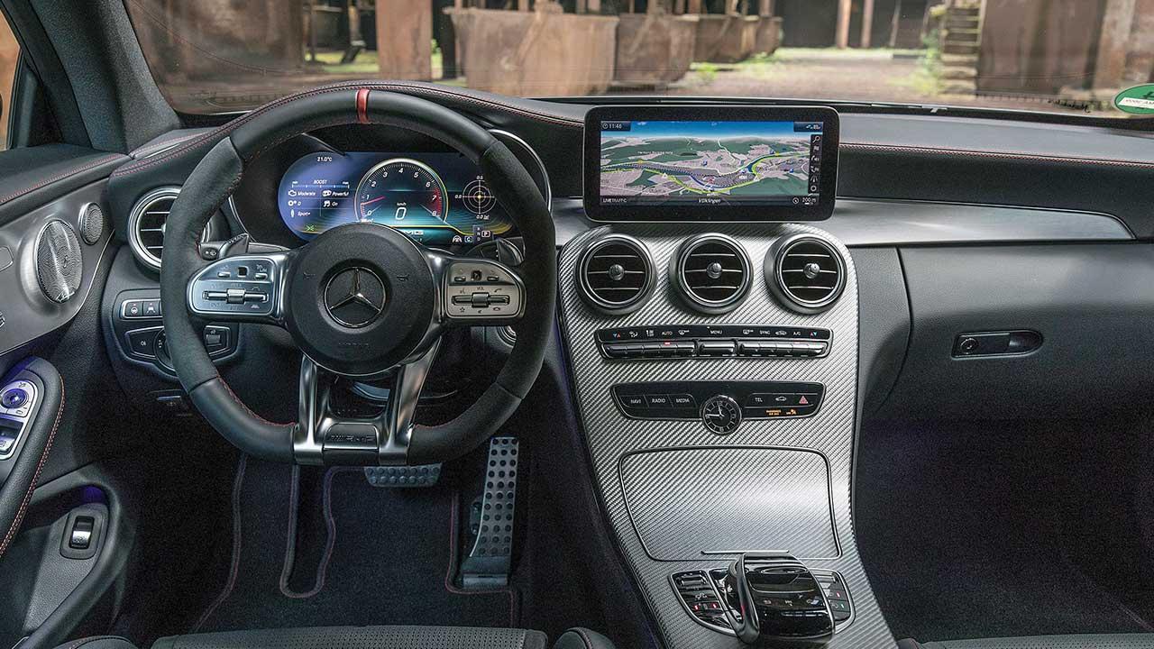 Mercedes-AMG C 43 4MATIC Coupé - Cockpit