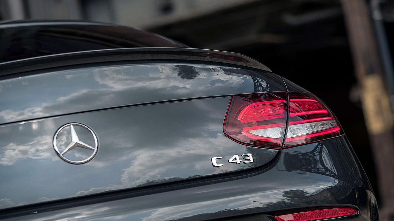 Mercedes-AMG C 43 4MATIC Coupé - Schriftzug