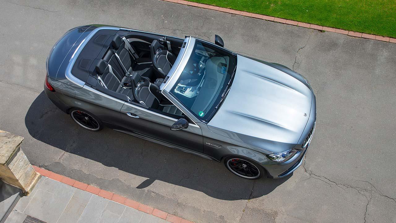 Mercedes-AMG C 63 Cabriolet - Vogelperspektive