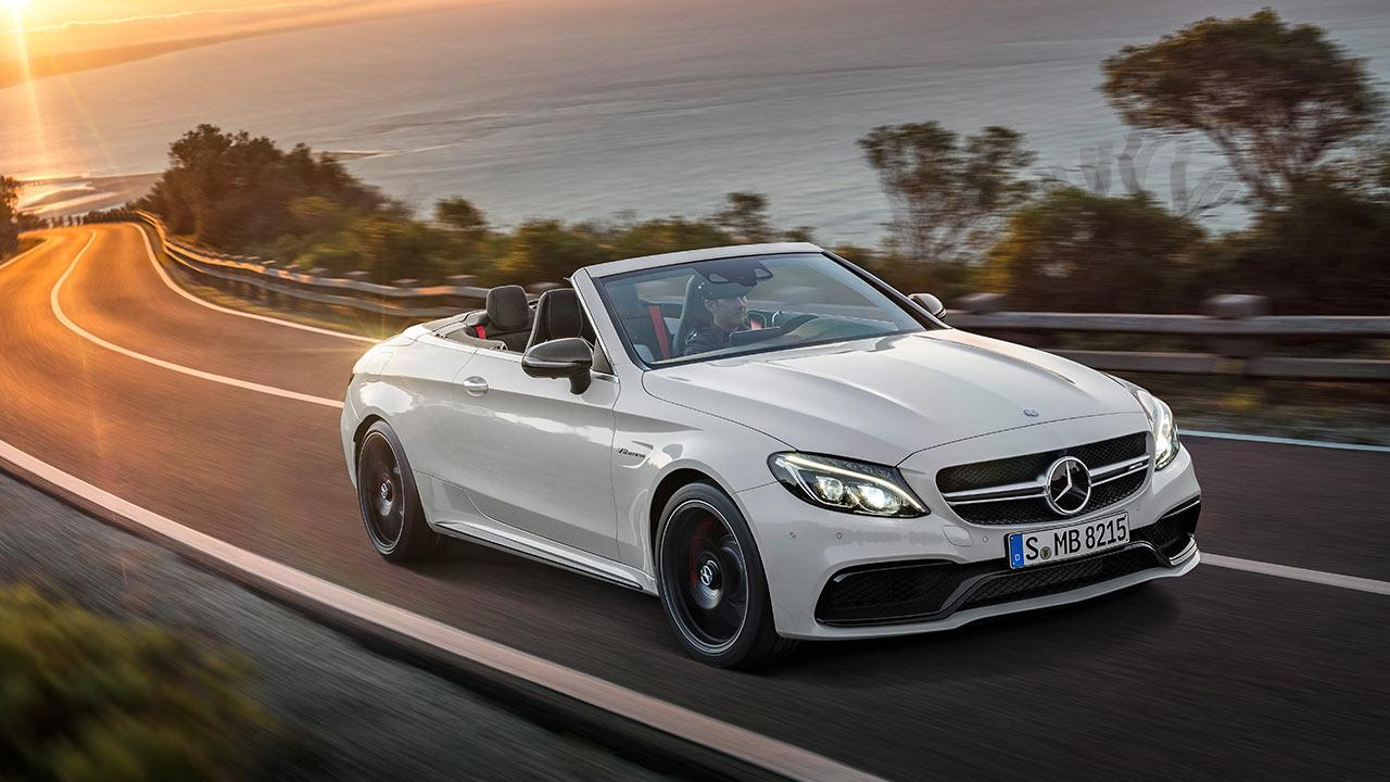 Mercedes-AMG C 63 S Cabriolet - in voller Fahrt