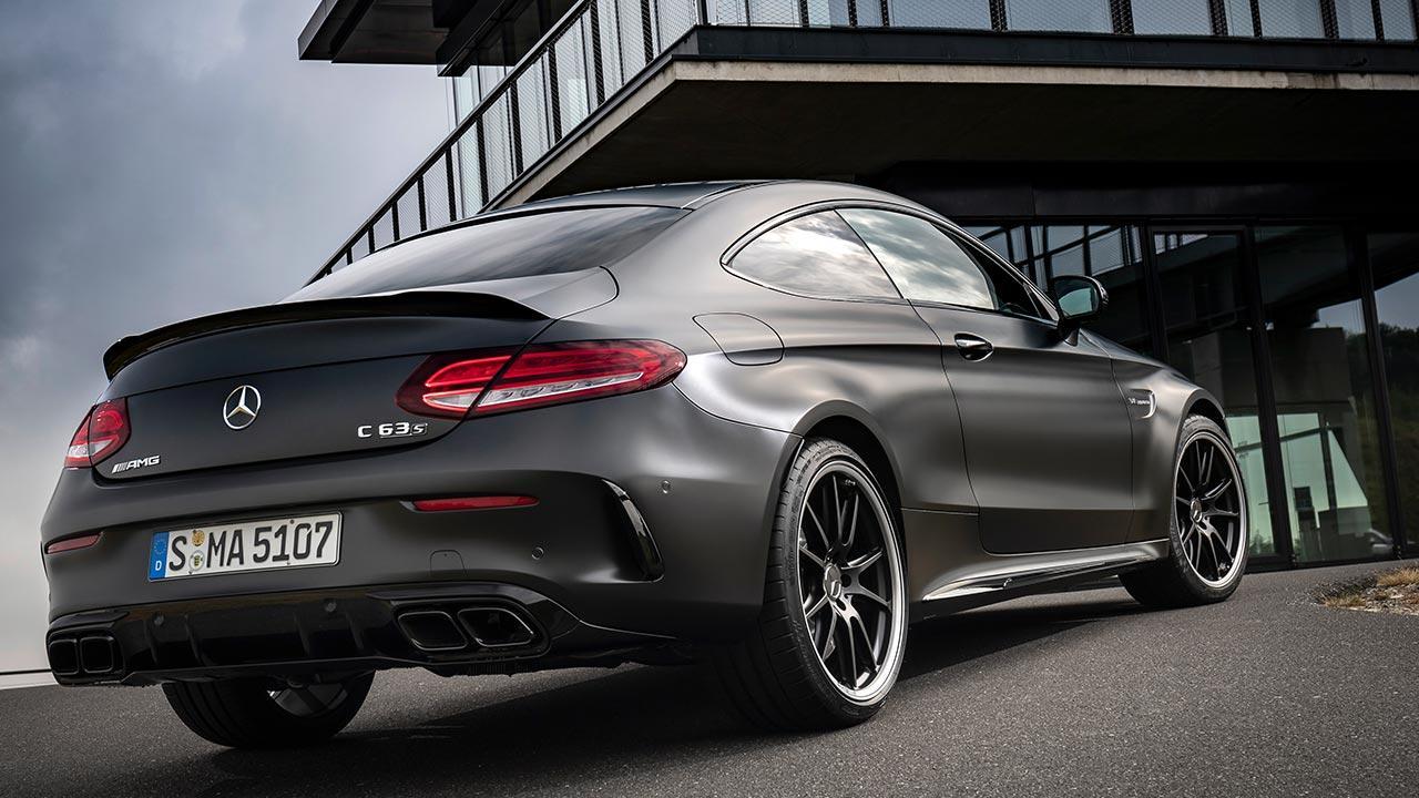 Mercedes-AMG C 63 Coupé - Heckansicht